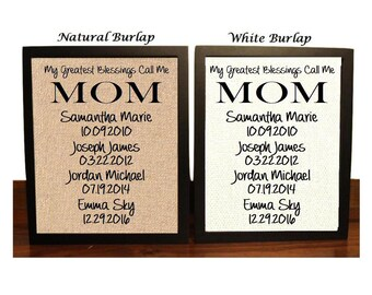 mothers day gift gift for mom my greatest blessings call me mom personalized gift for mom to mom from daughter gift for wife - Best Christmas Gifts For Mom 2014