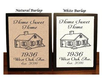 Housewarming Gift | New Home Housewarming Gift | Home Sweet Home Housewarming Gift | House Warming Gift | Personalized Housewarming gift