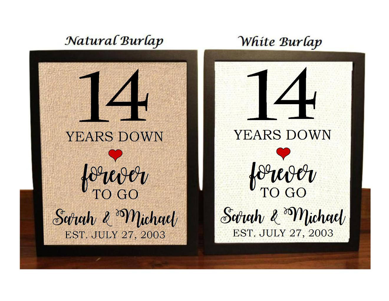 Gift Ideas For 14th Wedding Anniversary: 14th Anniversary Gift 14th Wedding Anniversary Gift Gift