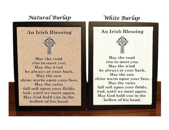 Irish Blessing Catholic New Year Blessing Celtic Blessing | Etsy