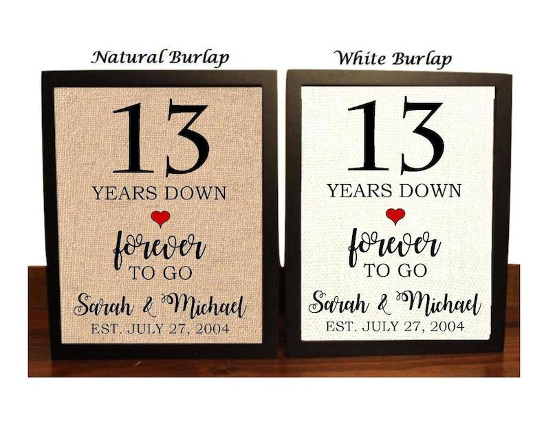 13 Wedding Anniversary Gifts: 13th Anniversary Gift 13th Wedding Anniversary Gift Gift