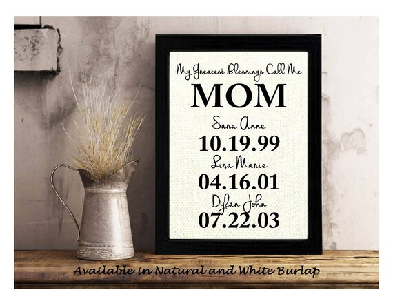 Gift Ideas For Mom Personalized Gifts for Mom Christmas | Etsy