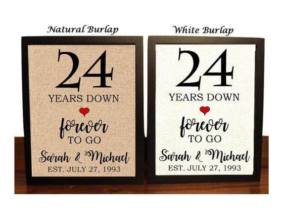 24th Wedding Anniversary Gift Ideas: 24th Anniversary Gift 24th Wedding Anniversary Gift Gift