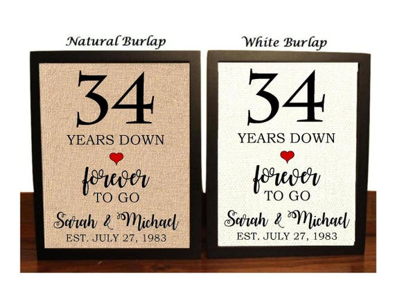 100 34th Year Wedding Anniversary Gifts And Ideas My Wedding