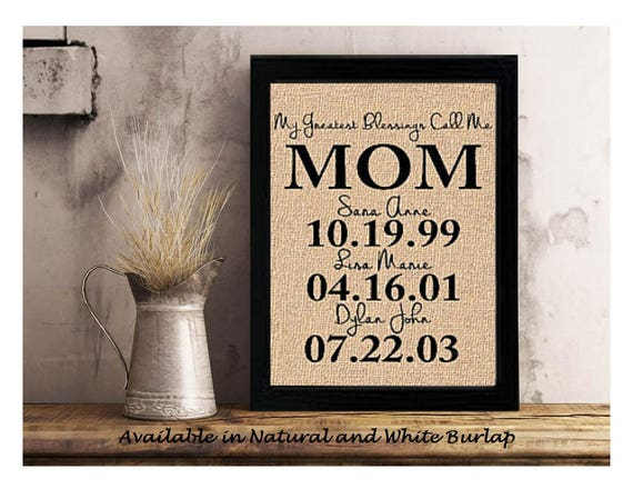 personalized gift for mom mom personalized gift etsy