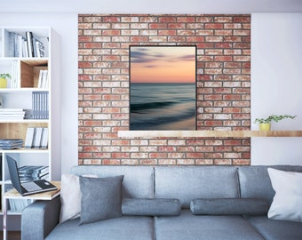 sunset, pastels, abstract, sanibel, sanibel island, florida, gulf coast, ocean, seascape, nautical, summer, photography, fine art print