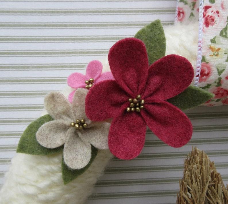 Bunny Wreath Felt Flower Wreath Sisal Bunny Wreath Spring Wreath Pink Easter Wreath Rabbit Wreath Easter Wreath