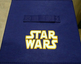 Star Wars Storage Bin Front only