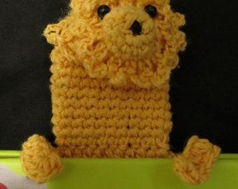 Crochet Lion Bookmark