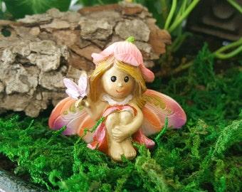 Miniature Fairytale Fairy with Butterfly