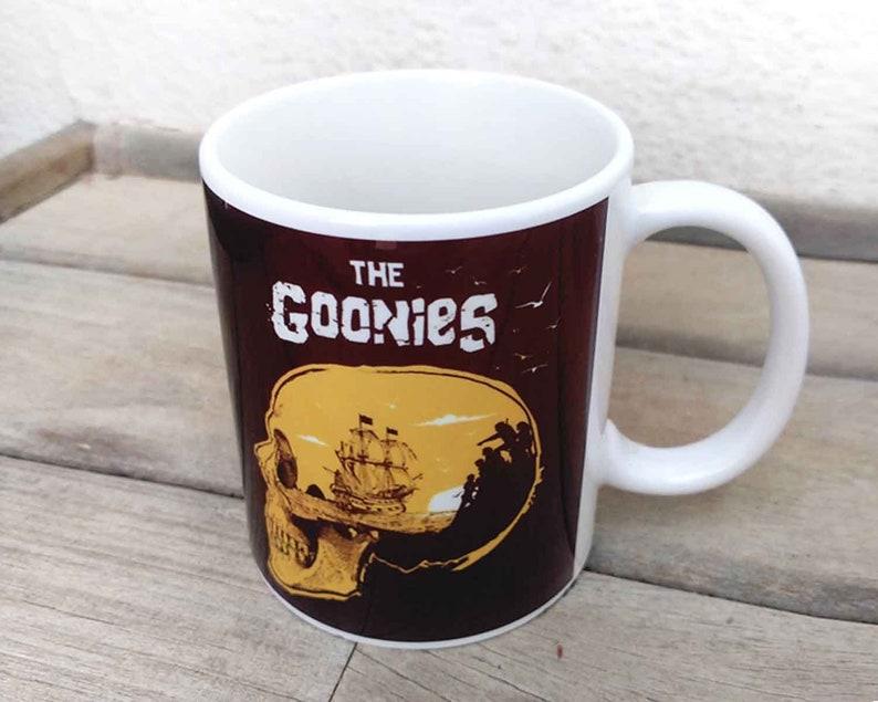 Alternative The Goonies Mug, Skull and Pirate Ship