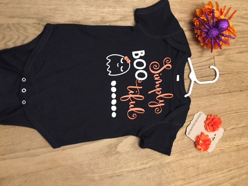 Halloween onesie,Baby Boo tiful shirt Baby Halloween Onesie