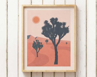 Joshua Tree Wall Art Etsy