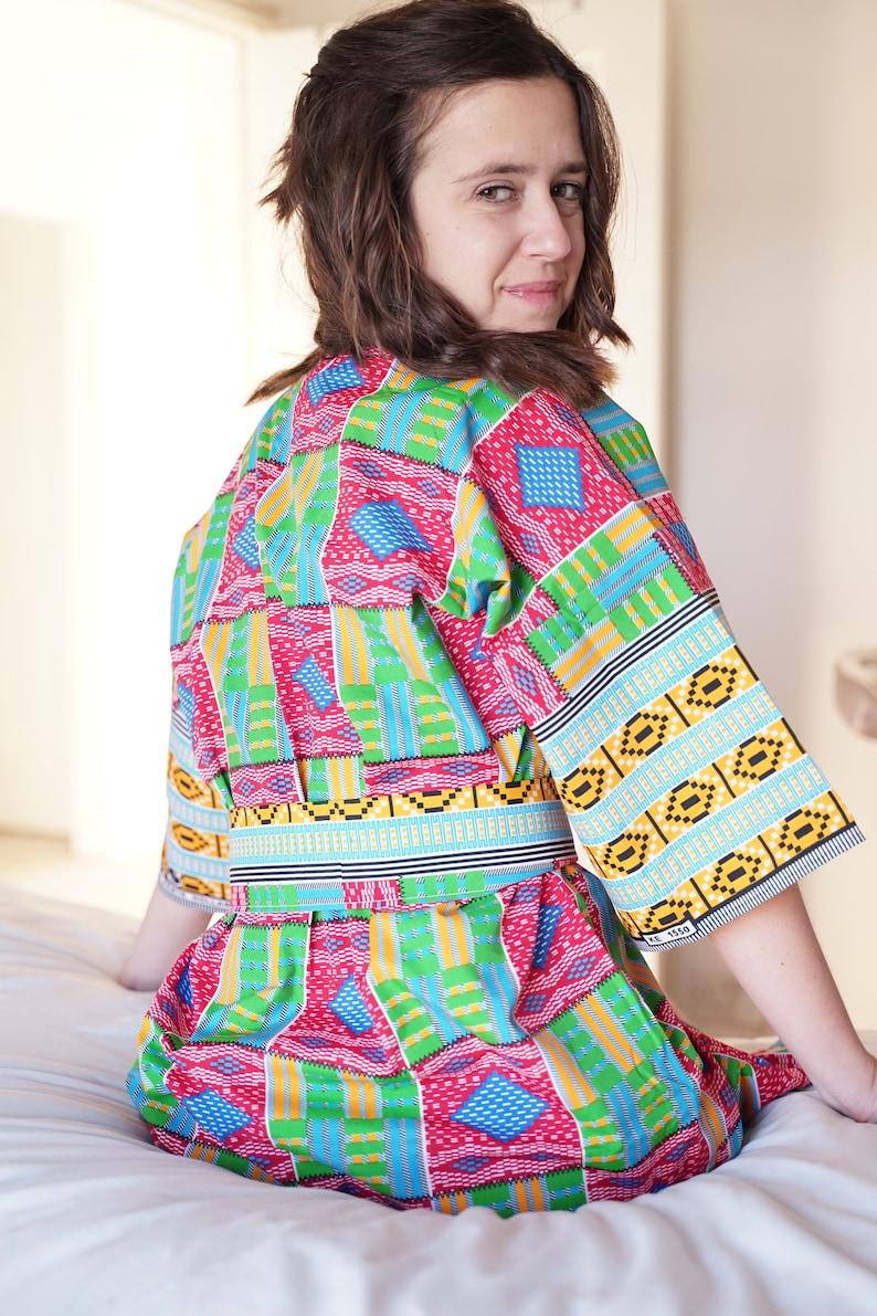 Handmade Kimono Robe Kimono Dress Gifts for Her Kimono Dressing Gown Women Kimono in the UK 100 /% Cotton