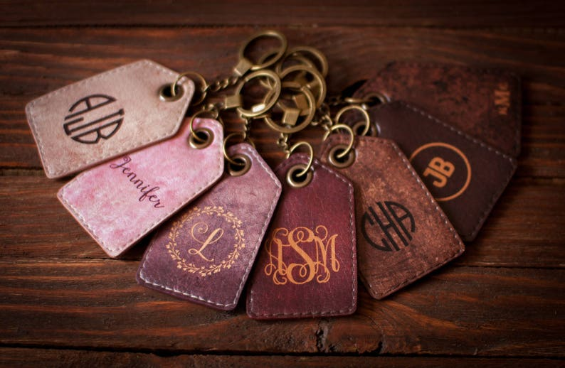 Luggage tags personalized luggage tag Leather luggage tag image 0