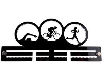 Medal Holder for Triathlon - Female Triathlete