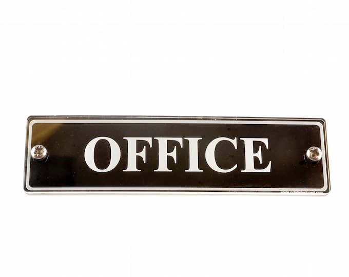 Office - Door Sign, Contemporary Design