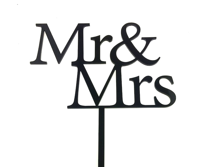 Wedding Cake Topper - Mr and Mrs , Mrs and Mrs, Mr and Mr