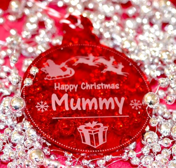 Joyeux Noël Maman Arbre De Noël Babiole Décoration Cadeau Souvenir