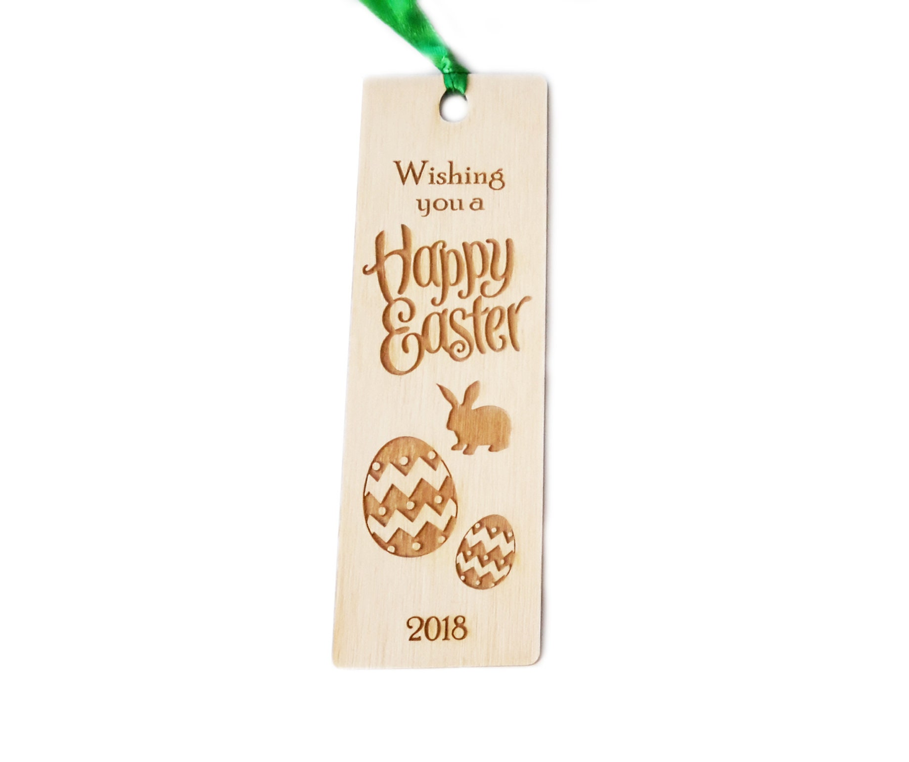 Easter wooden bookmark gift great easter gift for friends and easter wooden bookmark gift great easter gift for friends and family alternative to chocolate negle Images