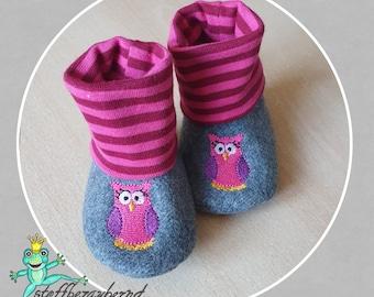 Newbies wool felt punches or socks by fabric enchanting