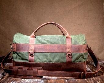 Carry On Luggage, Carry On Bag, Overnight Bag, Carry On Overnight, perfect Christmas Gift for Men