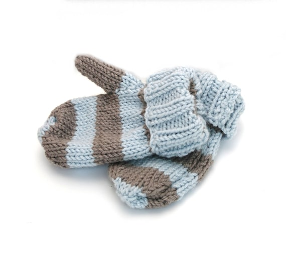 Beginner Baby Mitten Knitting Pattern Baby Mittens Toddler Etsy