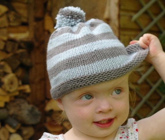 Beginner Knitting Kit   Baby bobble hat   Easy baby hat   Baby  7045a056b1c