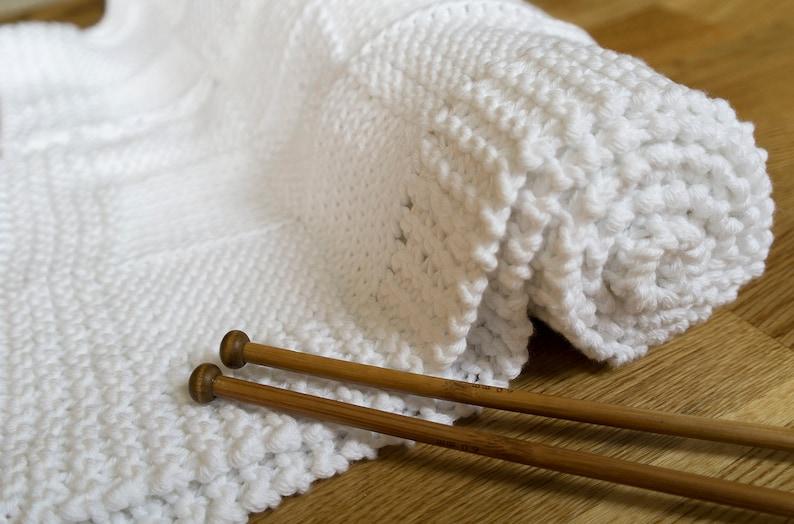 Baby Deken Breien.Baby Deken Breien Kit Leren Breien Baby Knitting Kit Chunky Katoen Baby Deken Deken Wafel Baby Douchegift Gemakkelijk Breien