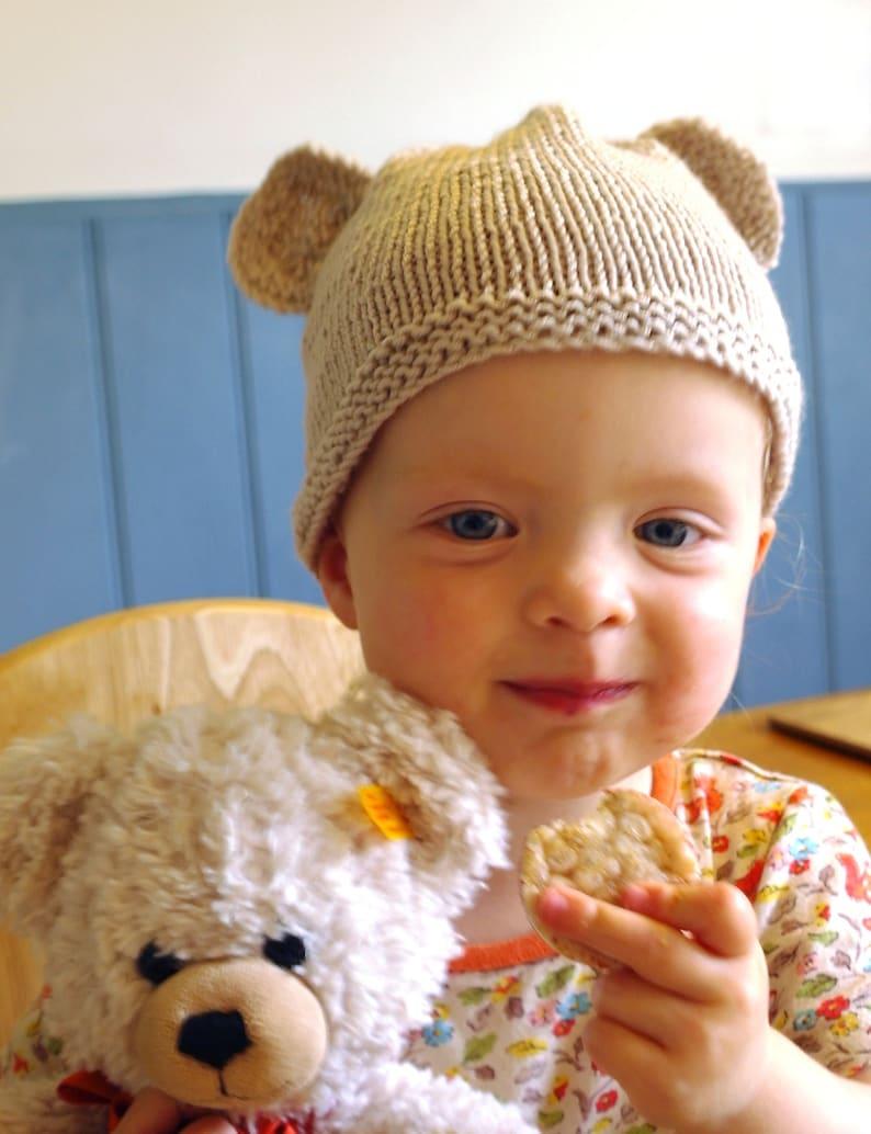 c6692148b Easy baby knitting pattern download pdf   teddy bear hat