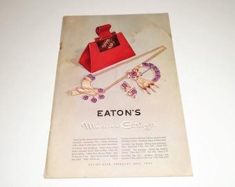 1946 Eaton's Catalog Winter Mid Season Store Catalog