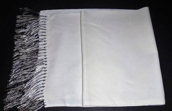 40s Mens Dress Scarf Vintage Silk Scarf ft Coat o… - image 6