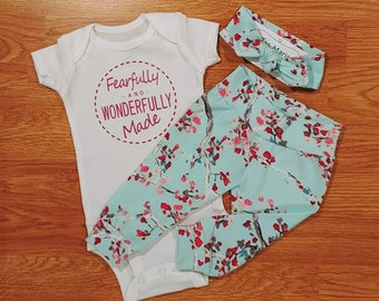 c5a81eda862 Fearfully and wonderfully made onesie