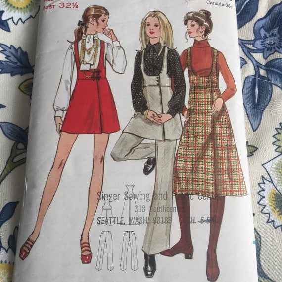 Vintage Butterick Pattern Vintage Sewing Pattern Ladies Size | Etsy