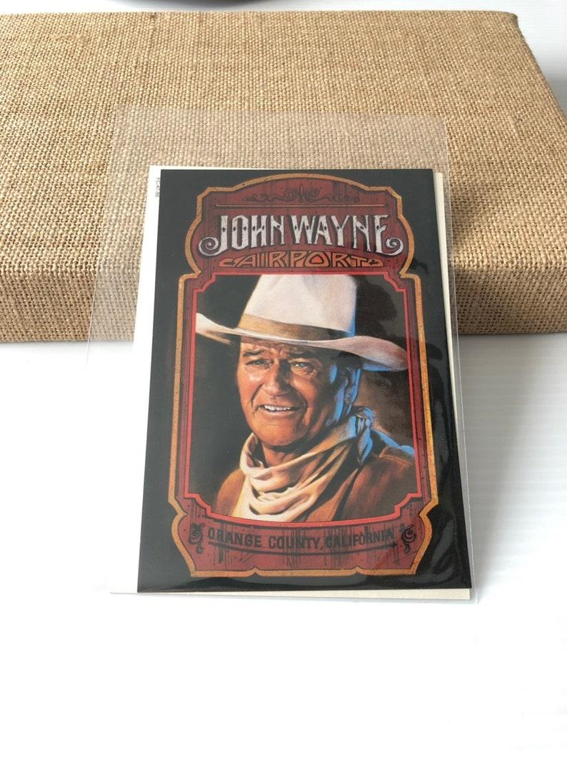 Vintage Postcards John Wayne Postcard Lot,2 cards Hollywood Movie Postcards Cowboys Postcard