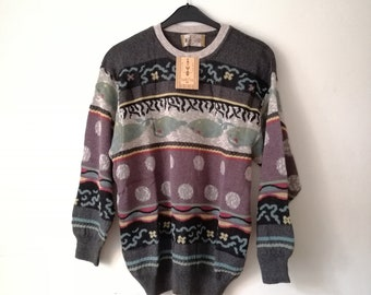0c771d81e1c27a Vintage south coast sweater deadstock new old stock ugly sweater big sweater