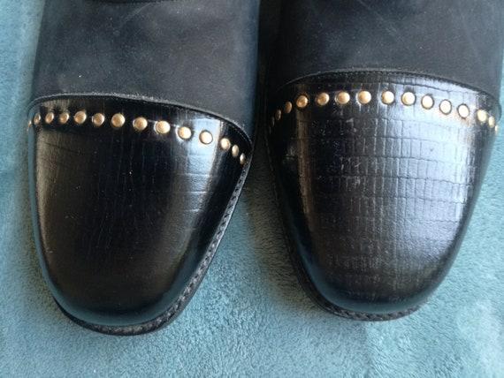 Vintage mens shoes 46 Meyer Amsterdam deadstock 1… - image 3
