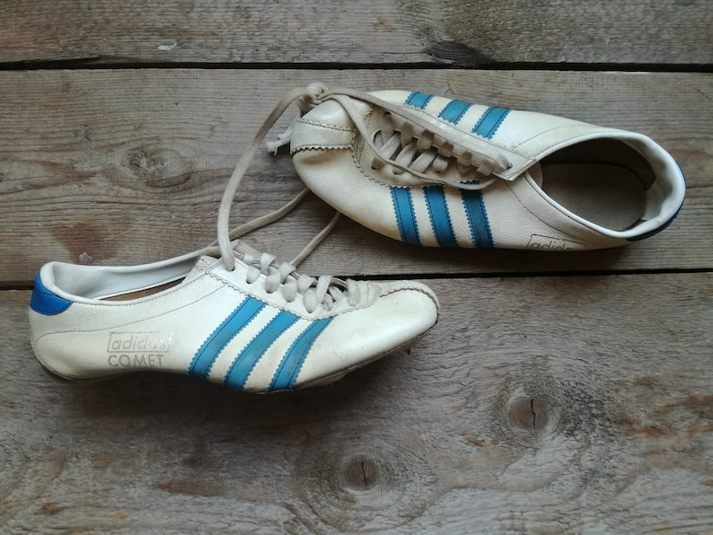 e1e33709fcaee vintage 50s 60s adidas comet spike spikes hicking shoes vintage adidas