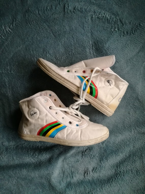 Fong Leng canvas sneakers unworn