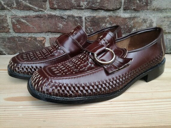 Vintage deadstock shoes 60s new old stock footwear size 41 eu