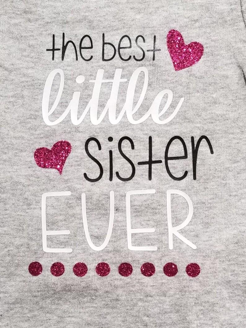 Best Little Sister Ever Infant bodysuit