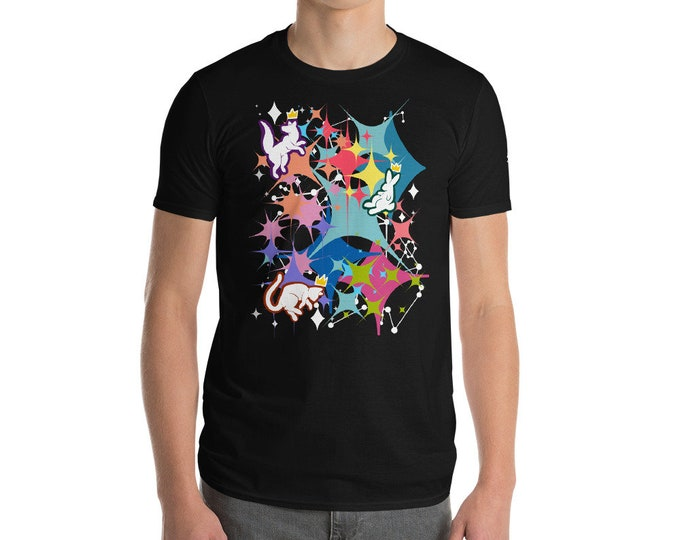 Constellatio (white print) Short-Sleeve T-Shirt