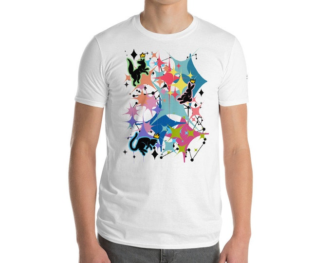 Constellatio (black print) Short-Sleeve T-Shirt