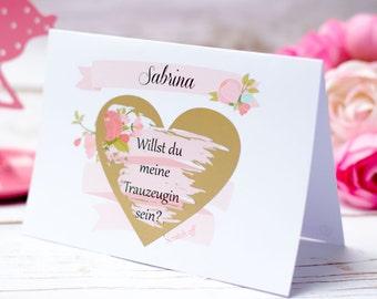 Geschenke Fur Trauzeuginnen Und Brautjungfern Etsy De
