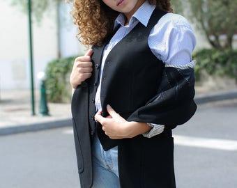 Jacket and vest VINTAGE 70's