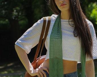BOHEMIAN VINTAGE knit scarf