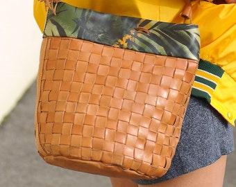 a82065ce74 bohemian leather handbag - ALDO RIPANI