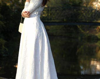 Vintage romantic wedding dress 40