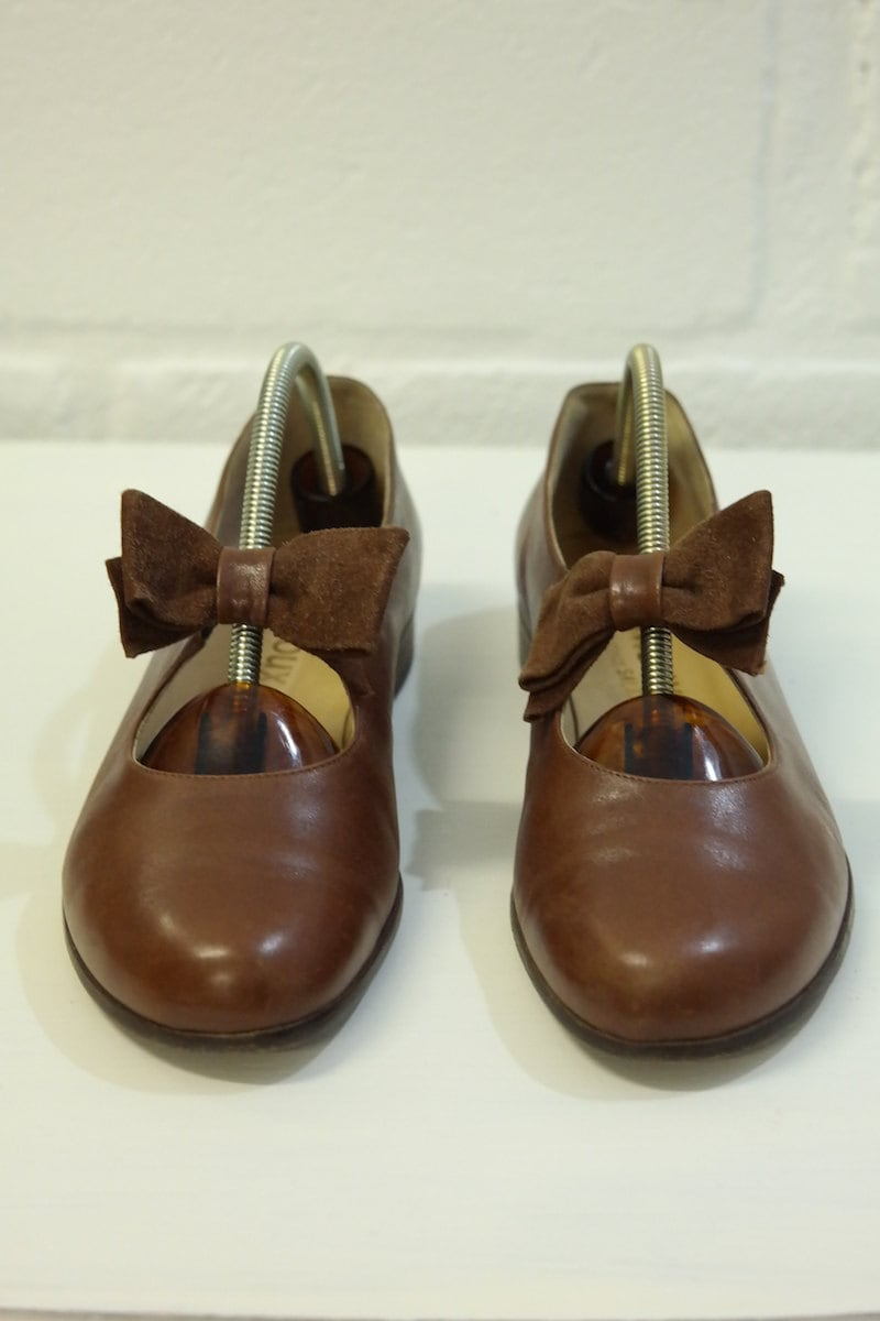 Shoe leather vintage ARNOUX ARNOUX ARNOUX SALAMANDER 7a5365