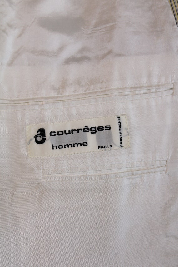 Courreges vintage trouser suit